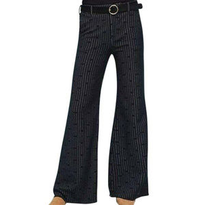 Cartonnier by Anthropologie Black Wide Leg Pants